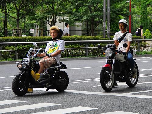 Cool Shibuya Scooter Guys