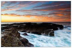 Spot #3 (Visual Clarity Photography) Tags: ocean winter sun cold water clouds sunrise dawn nikon cloudy au sydney july australia tokina nsw photowalk newsouthwales 2009 cloudformation lightroom firstlight kurnell botanybaynationalpark d90 theshire sutherlandshire nikond90 dsc6161 tokinaatx116prodx tokinaaf1116mmf28 thesutherlandshire tokina11~16mmf28 11~16mmf28