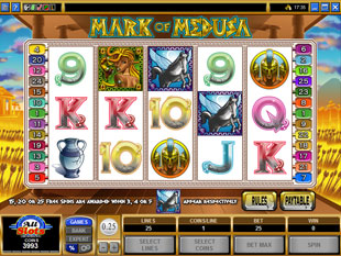 Mark of Medusa slot game online review