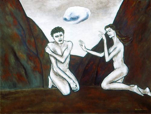 Adam and Eve / 亞當與夏娃 / Adam und Eva