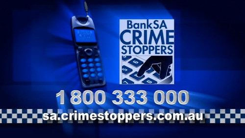 BankSA Crime Stoppers