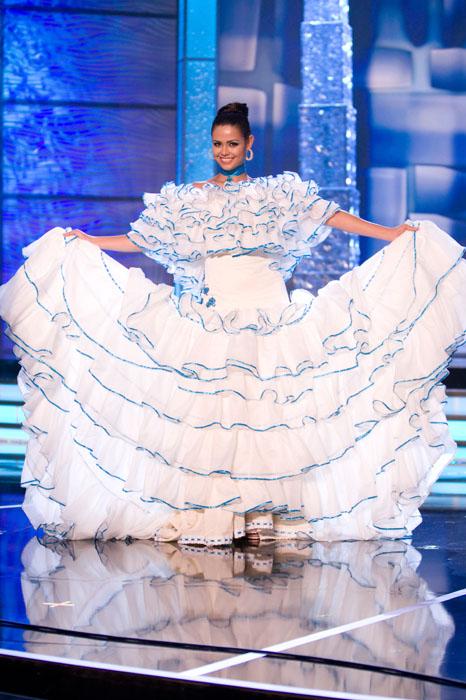Traje Típico de Miss Costa Rica