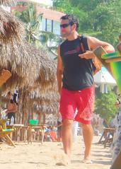 PV8909 071 (danimaniacs) Tags: vacation man hot sexy male guy mexico hunk shorts puertovallarta bulge