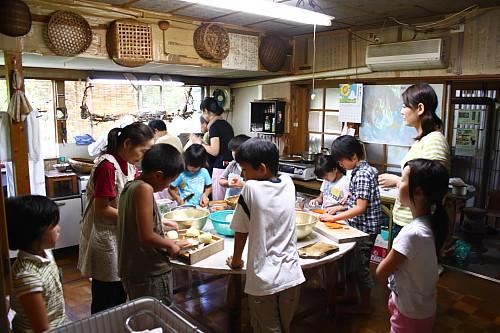 2009順光寺サマースクール 昼ごはんの準備
