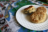 Chocolate and Irish Cream Scones of John Campbell's Irish Bakery