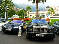 Bentley Vs. Rolls Royce (yannickminet) Tags: auto france car automobile russia continental rollsroyce automotive f1 voiture casino monaco minet panasonic rolls vs frankrijk gt phantom supercar royce bentley coup rusland yannick v12 sportcar carspotting dreamcar dmcfz8 montcarlo autogespot yannickm yannickminet