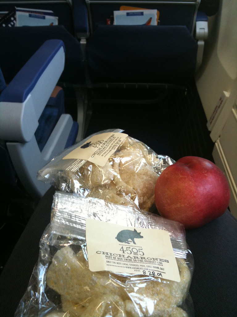 best in-flight snacks ever