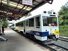 Un tren en La Robla