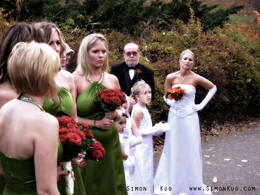 The Bride Grew Impatient