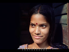 Portrait of Shumi (Shabbir Ferdous) Tags: portrait people woman brown girl female eyes photographer shot dhaka hindu housewife bangladesh ef2470mmf28lusm shumi bangladeshi sidur canoneos5dmarkii shabbirferdous nobabgonj wwwshabbirferdouscom shabbirferdouscom