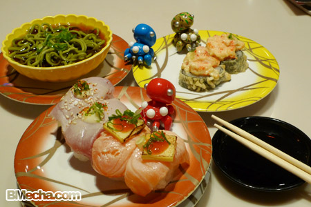 tachikoma + sushi