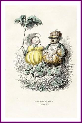 019-Drôleries végétales, ou L'Empire des légumes- Pierre Amédée Varin