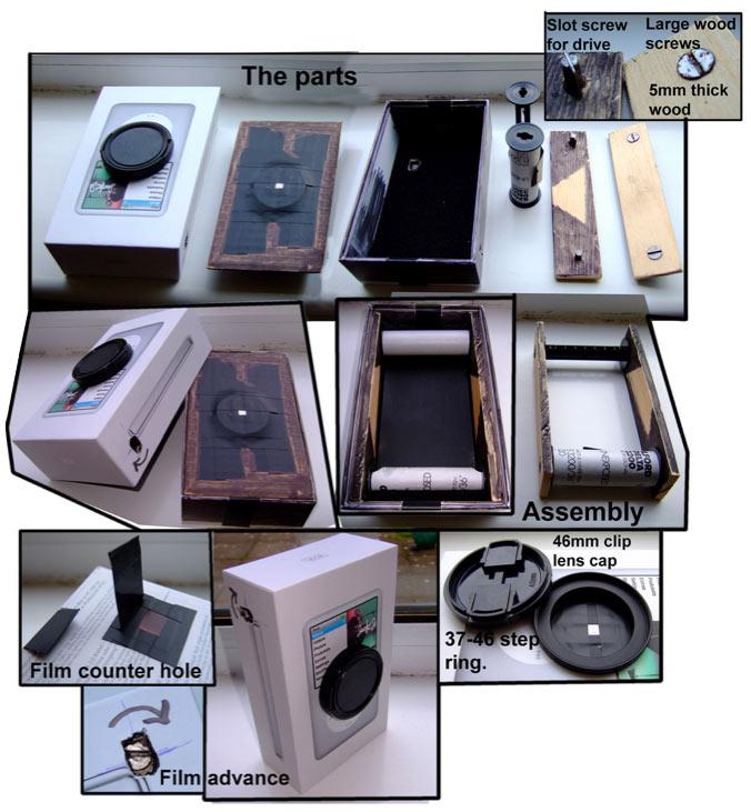 iPod Box Pinehole Camera