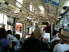 バス発車待ち