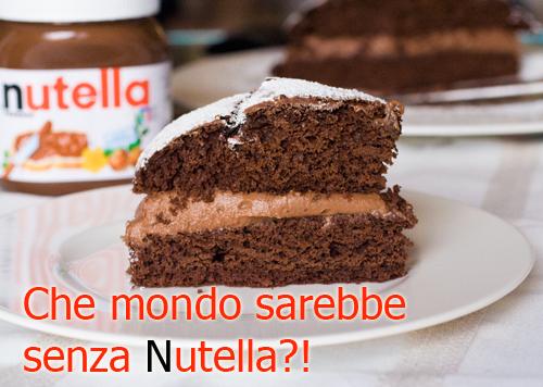 Torta cioccolato nutella