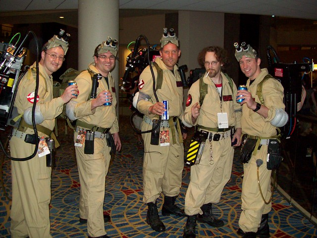 Ghostbusters - DragonCon 2009 Winner of Best Movie Group Hall Costume Contest