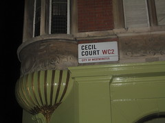 Cecil Court road