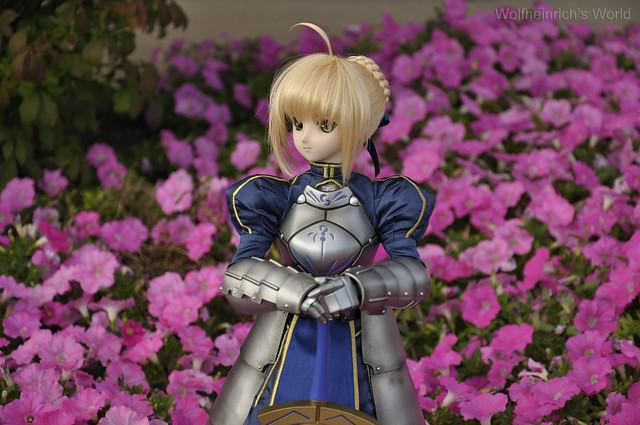 Dollfie Dream Saber with Pink Flower
