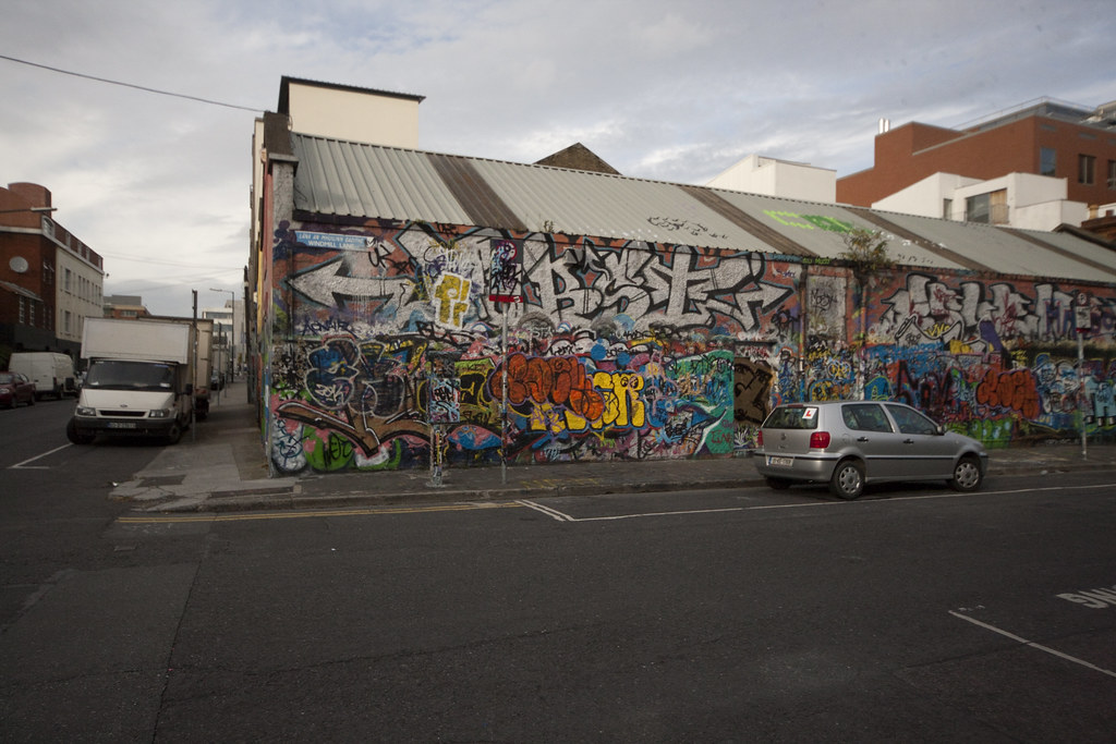 Wide Angle Views Of Dublin Street Art