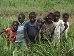 kids in Abiriw, Ghana