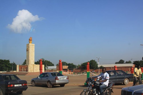 Ouagadougou downtown.