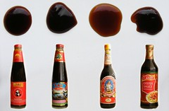 Comparing Oyster Sauces (FotoosVanRobin) Tags: oystersauce brands amoy comparing leekumkee oestersaus pandabrand asianingredients aziatischeingredienten aziatischeingredientennl aziatischeingredinten