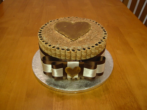 12 - Chocolate Heart Cake