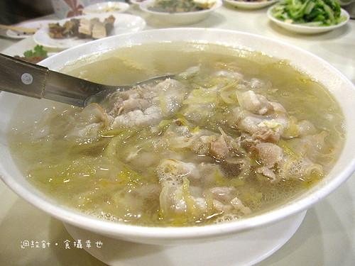 北平都一處酸菜白肉湯
