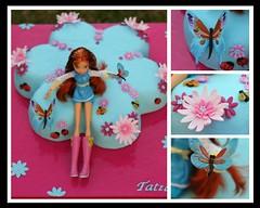 Winx for Tatiana (Edible Imaginations/Schweet Caroline) Tags: cake butterfly fdsflickrtoys winx sugarflower