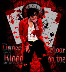 Michael Jackson - Blood OnThe Dance Flor (TheLean) Tags: this michael is dance blood king flor it pop jackson 1958 years 1995 80 2009 onthe