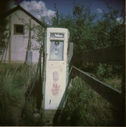 Gas Pump Holga