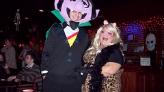 Count and Ms. Piggy (CassieL33) Tags: halloween club drag dance costume disney queen sesamestreet dragqueen siouxcity jonesstreetstation