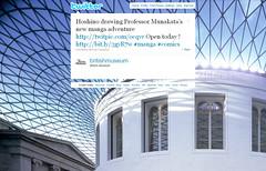 091106(2) - 宗像教授的魅力風靡全英倫,科幻漫畫家「星野之宣」登上「大英博物館」隆重舉辦個人美展