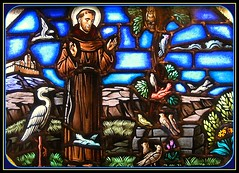 Prayers of St. Francis of Assisi (Loci Lenar) Tags: new news art saint photography interestingness interesting peace image rss god faith jesus saints stainedglass blogger images blogs christian explore photoblog catholicchurch bloglines feed christianity stfrancis stainedglasswindow prayers feeds patronsaint stfrancisofassisi stainedglasswindows christianart lakehopatcongnj ourladystaroftheseachurch platinumphoto inspiredbyhim catholicprayers stfranciscanticleofallcreatures prayerofstfrancisofassisi prayersofstfrancisofassisi