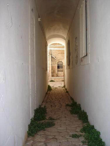A narrow corridor