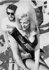 Linda Vaughn in the pits (torinodave72) Tags: girl golden linda nascar firebird miss vaughn pure shifter hurst nhra usac