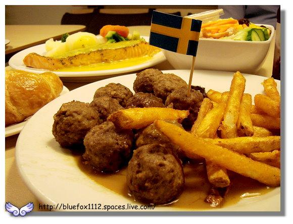 091025IKEA早午餐04_瑞典烤肉丸