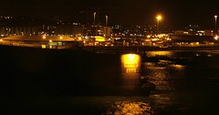 Jersey Harbour at night