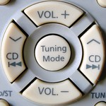 TV remote control buttons. thumbnail