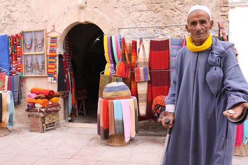 Begging, Essaouira style...