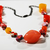 Tutti Frutti Paper Bead Necklace