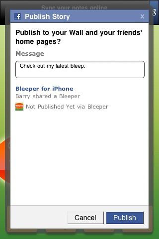 iPhone Bleeper