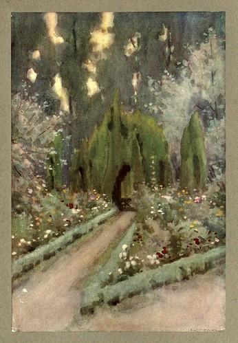 007-Los jardines de Aranjuez-An artista in Spain 1914- Michael Arthur C.