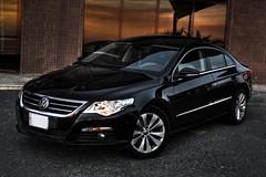 Volkswagen CC (Talal Al-Mtn) Tags: blue sun black set vw 2009 q8 kwt inkuwait volkswagencc bytalalalmtn