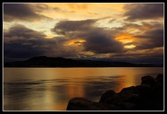 00245 (colintduncan) Tags: sunset water clouds scotland sony moray firth a350