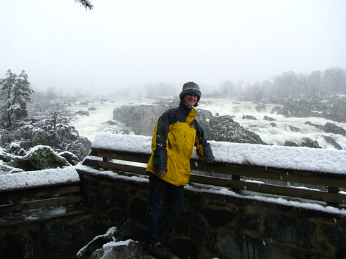 Me, with snow!
