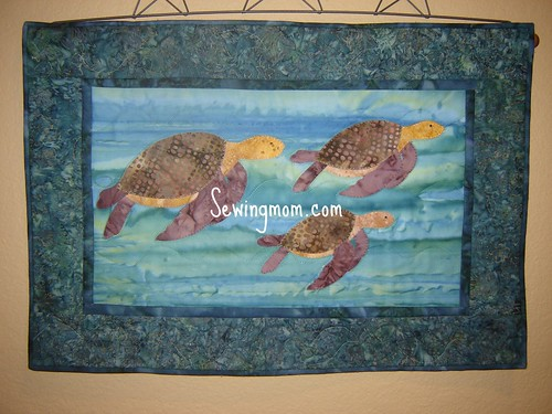 turtle wall hanging Dec 09 002