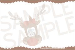 Reindeer Recipe 3x5 Cards