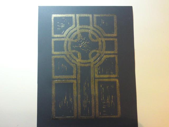 Acrylic print 1 - black