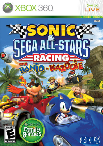 Sonic & SEGA All-Stars Racing -- Xbox 360 Pack Front